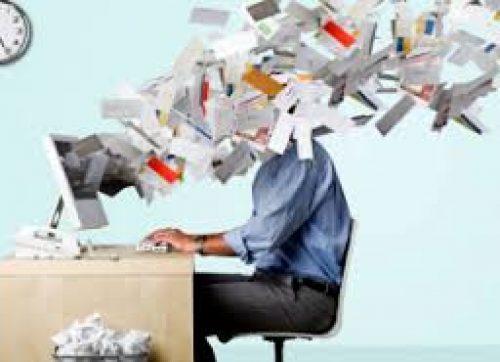 El estrés del correo electrónico